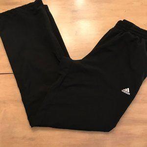 Adidas Black Track Pants Size Medium
